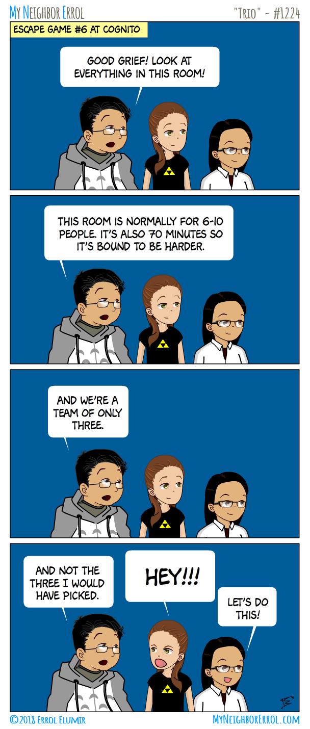 Comic 1224 Trio